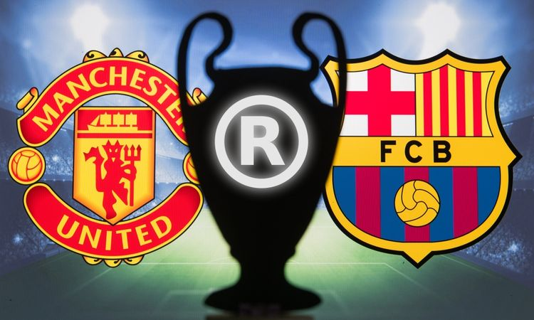FC Barcelona and Man Utd are brand champions– the football clubs and players with the largest trademark portfolios revealed