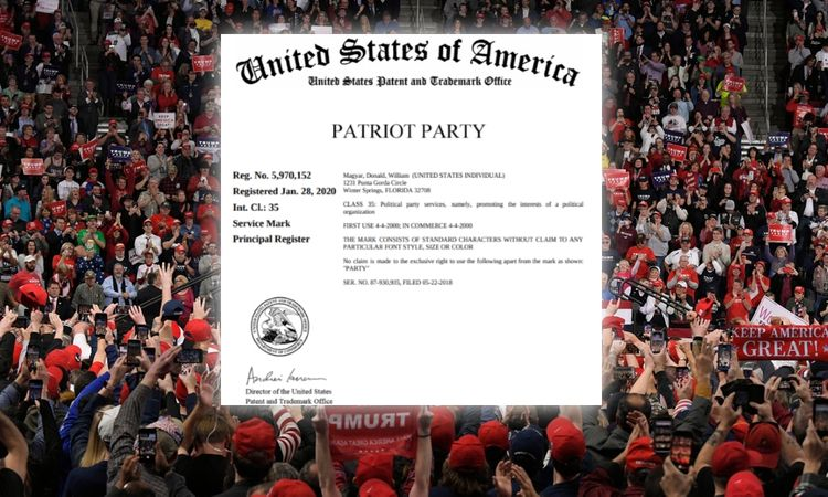 """Trump's Patriot Party: prior trademarks could be """"significant hurdle"""" to new political venture"""