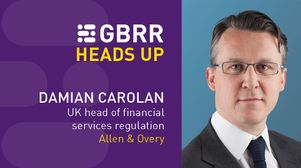 Heads Up: with Damian Carolan at Allen & Overy