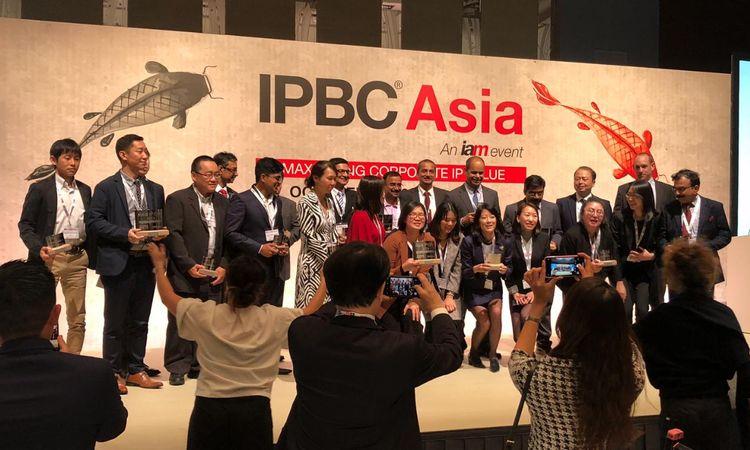IAM honours Asia's IP leaders